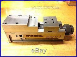 Gressel Gripos 80 Machine Tool Vice CNC Swiss Made