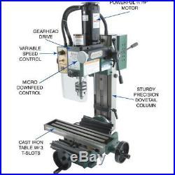Grizzly G8689 4 x 16 Mini Milling Machine