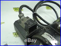 HAAS 5C ROTARY SERVO INDEXING FIXTURE With 7 STEP COLLET CLOSER