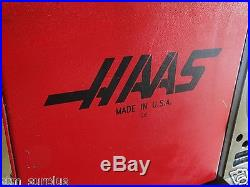 HAAS HRT 210 T SLOT ROTARY TABLE 8 CNC SERVO