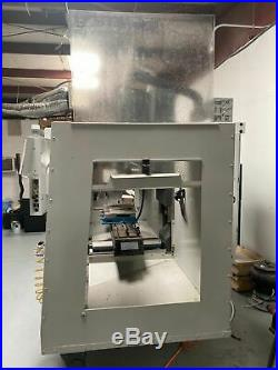HAAS TM-2P, VMC 2018 1880 Cutting Hours Rigid Tapping, Wireless Probing Syst