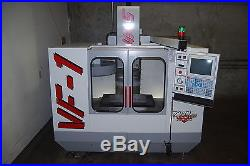 HAAS VF1 NEW CONDITION, 1,000 HRS TOTAL TIME ON IT SINCE NEW