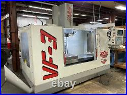 HAAS VF3, 1997 Rigid Tapping, 4th Axis Wiring, Programmable Coolant