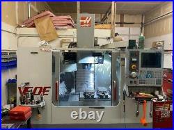 HAAS VF-0E CNC Vertical Machining Center 20 HP 4th Axis Ready HSM P Cool