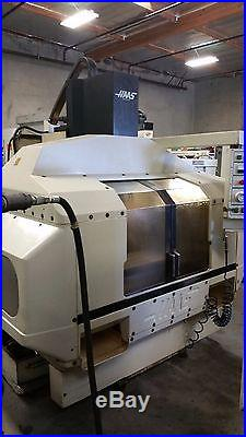 Haas Vf-2 Vertical Machining Center 4th Ready Gearbox Runs Good