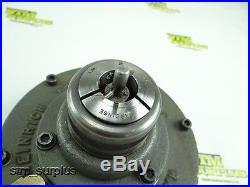 HEINRICH 5C PNEUMATIC COLLET CHUCK With HARDINGE 3/4 5C COLLET With STOP
