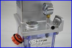 HERG Automatic Lube Pump Oiler 110v for Bridgeport Knee Mills