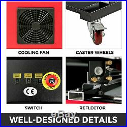 HQ130W CO2 Laser Engraving DSP Cutting Machine USB 1400900mm Engraver Cutter
