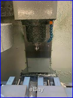 Haas Mini Mill VMC, 2004 Rigid Tap, Coolant Pump, 1 MB, Video