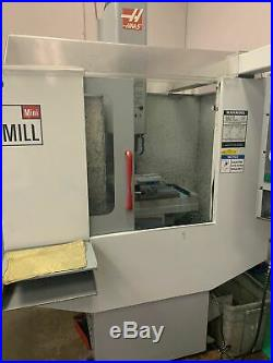 Haas Mini Mill VMC, 2004 Rigid Tap, Coolant Pump, Under Power