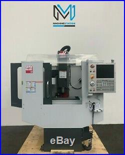 Haas Super Mini MILL Cnc Vertical Machining Center 40 Taper 10000 Rpm- Vf 2014