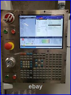 Haas Tm-2p Mfg 2017 Under 300 Hours Pcool, Auger, Rigid Tap, Powered Up