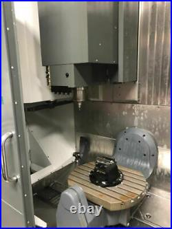 Haas UMC-750 Universal Machining Center, 2014 WIPS, HSM