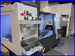 Haas VF4SS 2018 (5 Axis) Loaded with Options 45% Off New