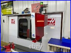 Haas VF-2 Rigid tapping, Chip conveyor, Programmable coolant