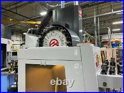 Haas VF-2 VMC, 2012 4th Axis Rotary Table, WIPS, Thru Spindle Coolant, Auger