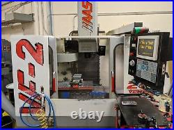 Haas VF-2 VMC, 7500 RPM, Auger, Cool and under power for inspection