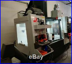 Haas VF-2ss, 12000 RPM, 24 ATC, TSC 300 PSI, Probes, Auger and Rotary Table