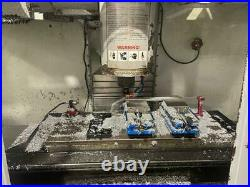 Haas VF-3SS VMC, 24 ATC, 12,000 RPM, Probes, wired for 4th, low hours and more