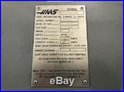 Haas VF-3YT/50 5 Axis CNC Vertical Machining Center