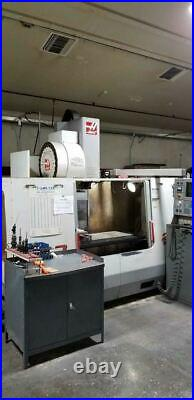 Haas VF-3 VMC, 2001 4th Ready, P-Cool, Side Mount Tool Changer