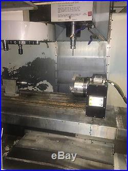 Haas VF 4 CNC Milling Machine