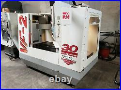 Haas Vf-2 Mfg 1998 Pcool, Auger, 4th Ready, Powered Up