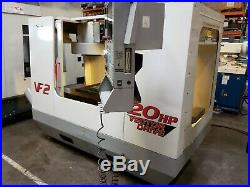 Haas Vf-2 Mfg 2001 Pcool, Auger, 4th Ready, Powered Up