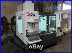 Haas Vf-2yt Mfg 2019 15k Spindle, 50 Tool Atc, Probing, 4th Ready $47k Options