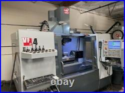 Haas Vf-4, Tr-210 5-axis 50 X, 20 Y, 25 Z New 2016 Jc