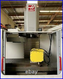 Haas Vf-4 Vertical Machining Center 5 Axis Cnc MILL Nikken Trunnion Tsc Vf