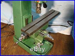 Hamilton Associates Benchtop Vertical Milling Machine Made in USA