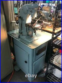 Hardinge BB2V Vertical Milling Machine + Rare Collets + Very Rare Vise