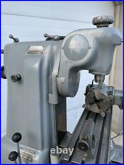 Hardinge TM Horizontal Vertical Milling Machine Dividing Head Lots Of Tooling