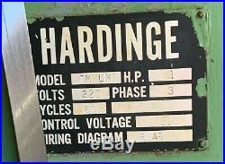 Hardinge TM-UM Horizontal Universal Mill
