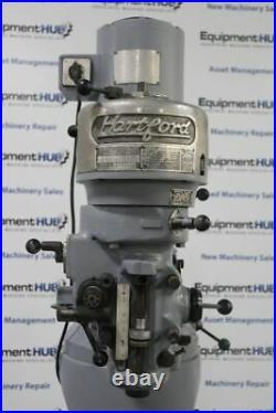 Hartford 9 x 42 Vertical Milling Machine