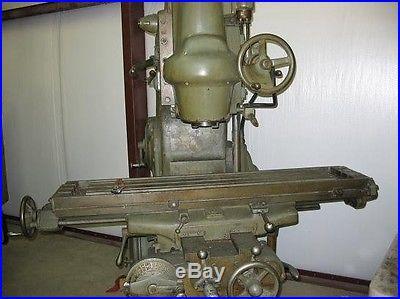 Heavy Duty Kearney Trecker vertical mill