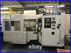 Hitachi Selki HG400-3, horizontal mill, 5 axis