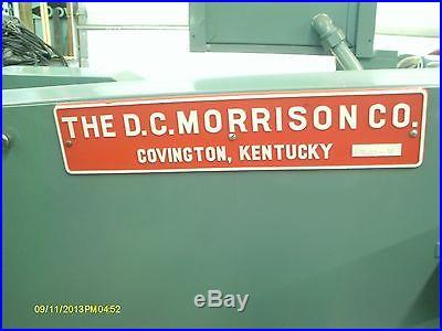 Horizontal Production Milling Machine, DC Morrison