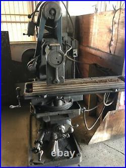 Horizontal milling machine used