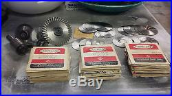 Huge lot of Cleveland slitting saws, and assorted arbors