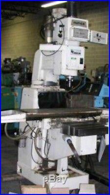 Hurco Hawk 5 retrofit Cnc Mach 3 Centroid Machmotion Milling Machine Flashcut