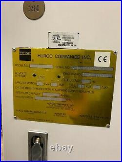 Hurco Model VM1 CNC Vertical Machining Center, New 2004 reduced