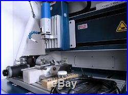 Isel Techno Cnc 4 Axis Micro Milling Engraver Mach3 Software