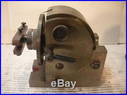 Indexing Dividing Head B&S-0 with Tailstock Tabata Japan