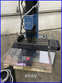 Intelitek Light Machines 3axis Cnc Bench Top Milling Machine 6.5x 19.5 With Vise
