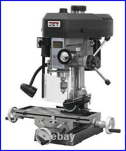 JET 350017 Mill Drill Machine, Manual, 1ph, 120/240V