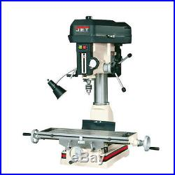 JET JMD-15, 1 HP 1-Phase R-8 Taper Milling/Drilling Machine 350017 NEW