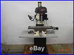 JET JMD-18 230-Volt 1 Phase Milling/Drilling Machine Part Number 350018