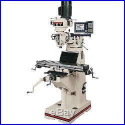 JET Vertical Milling Machine- 1 1/2 HP, 230 Volt, #JVM-836-1